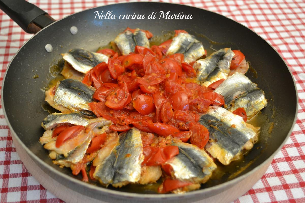 sardine alla pizzaiola ricetta blog nella cucina di martina