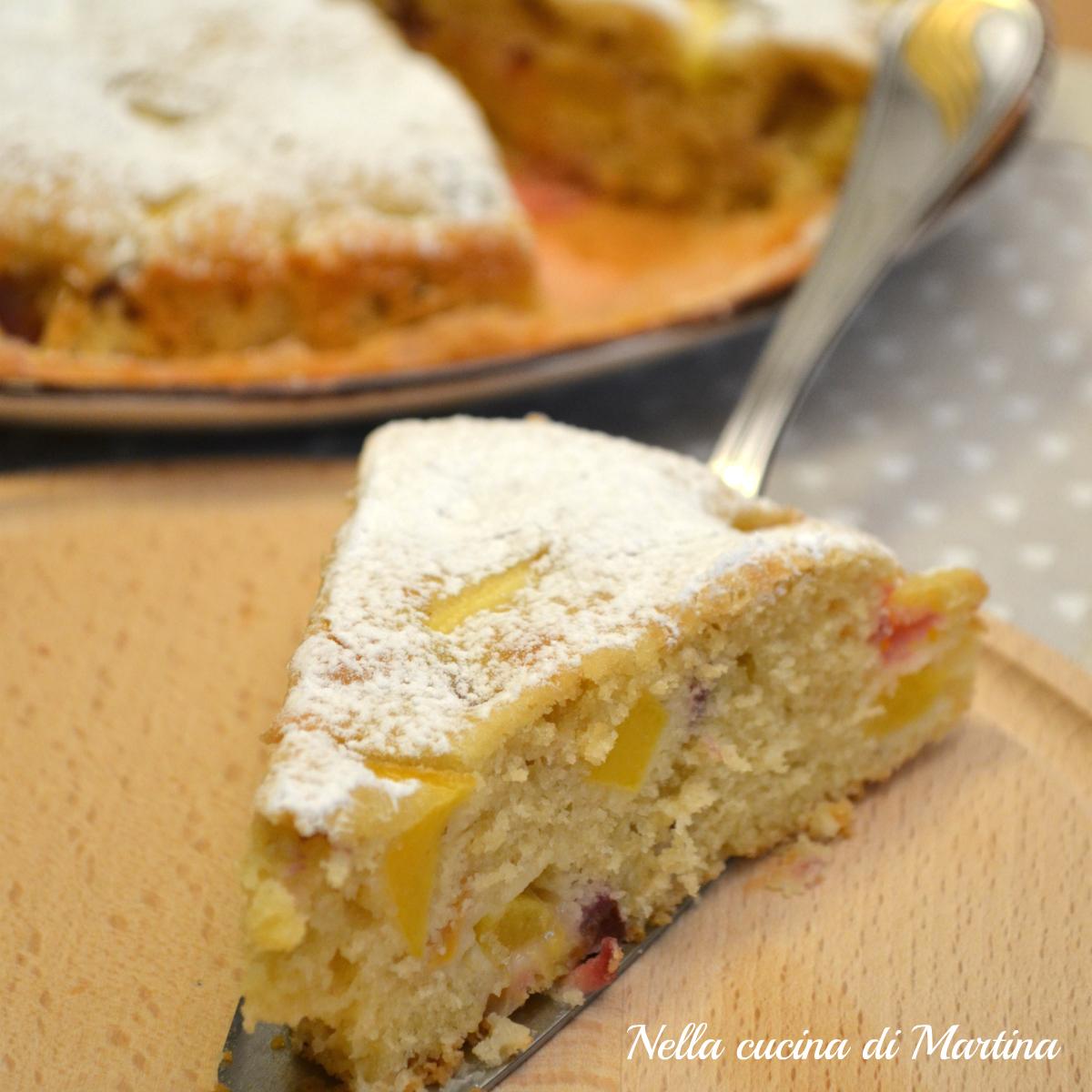 torta alla frutta ricetta blog nella cucina di Martina
