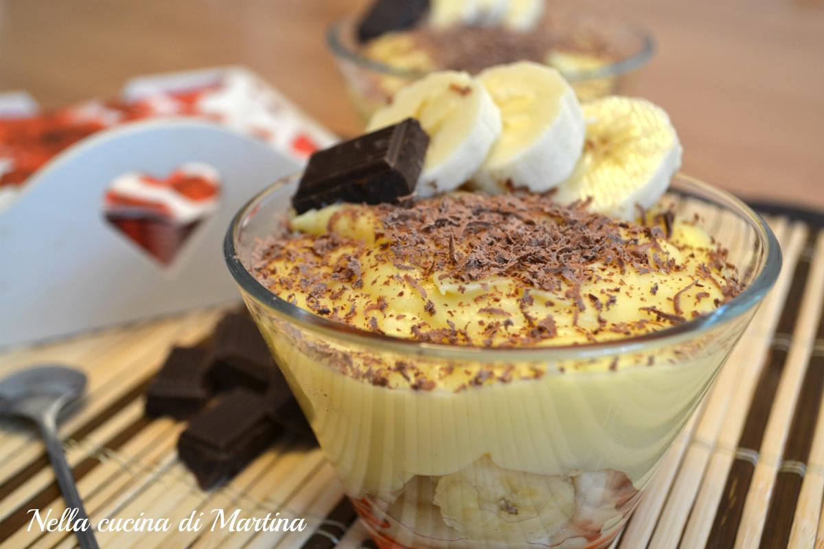 banane alla crema ricetta blog nella cucina di martina