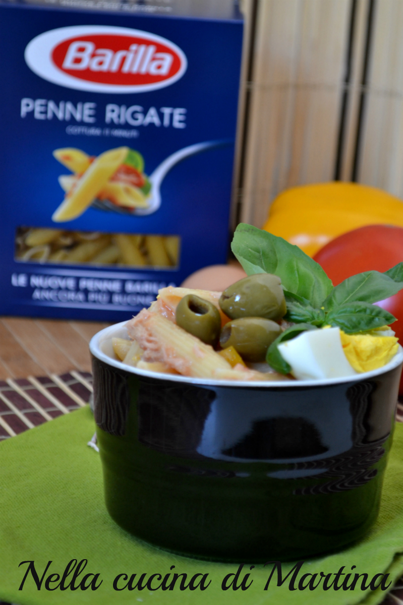 insalata di pasta piena estate  blog