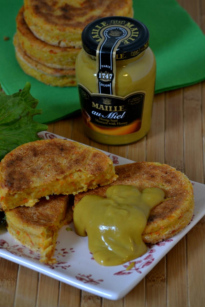 hamburger vegetali con senape al miele 3