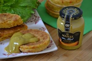 Hamburger vegetariani con senape al miele