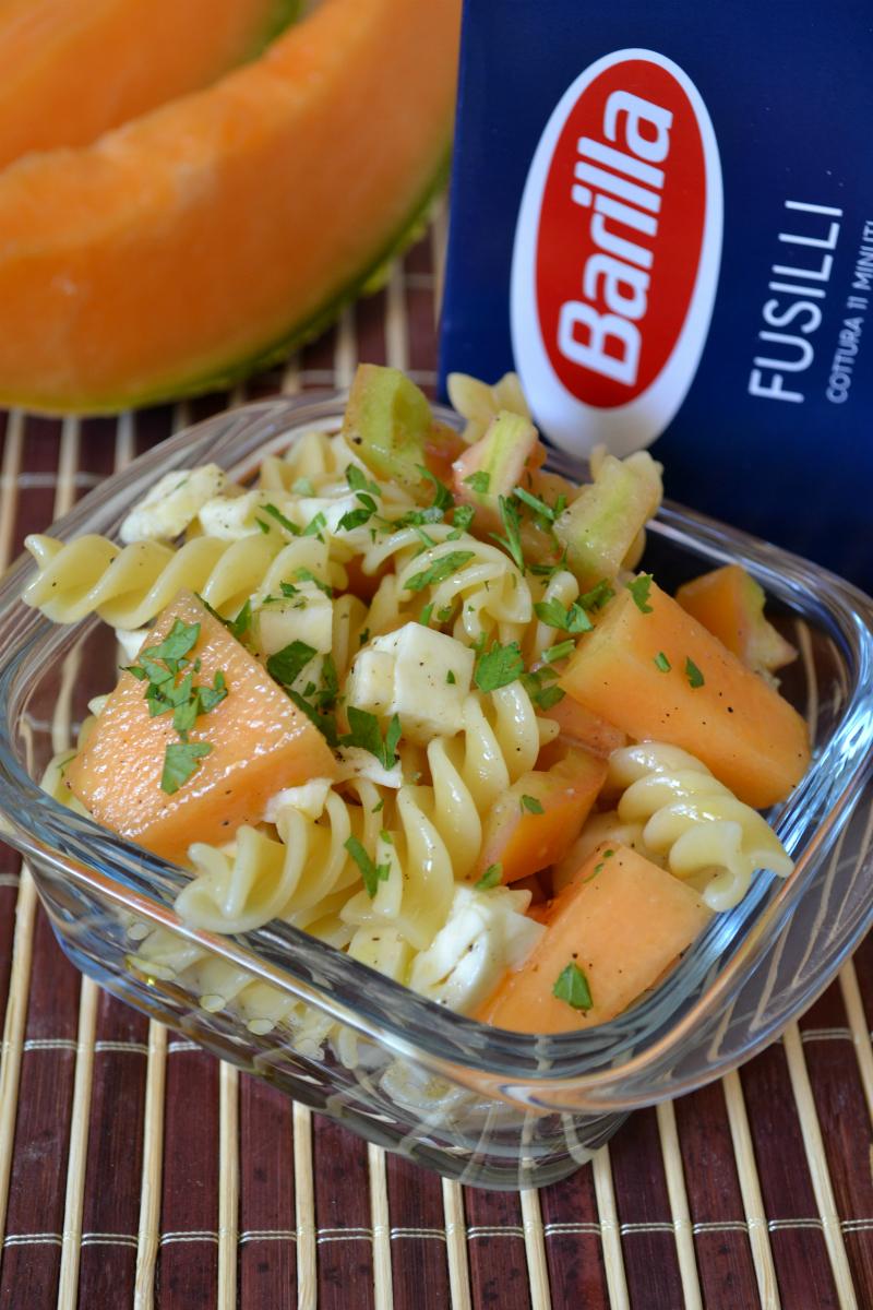 insalata di pasta calda estate 4