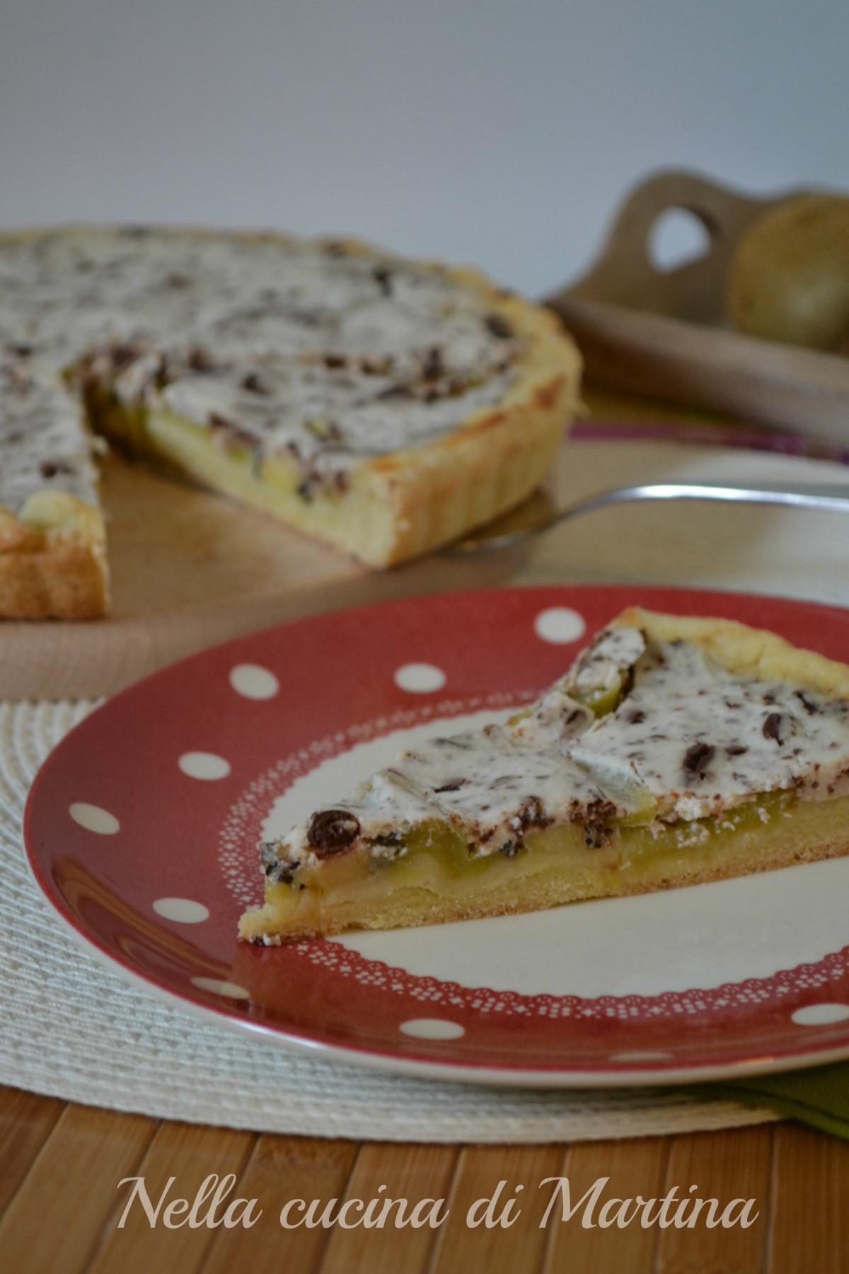 crostata autunnale di kiwi ricetta
