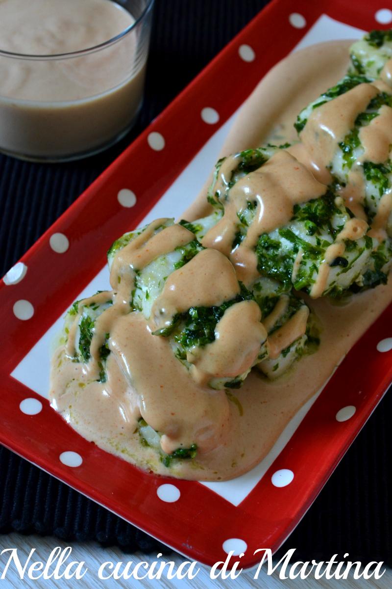 nasello in salsa ricetta blog nella cucina di martina