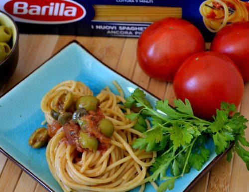 Spaghetti con sugo cervinia