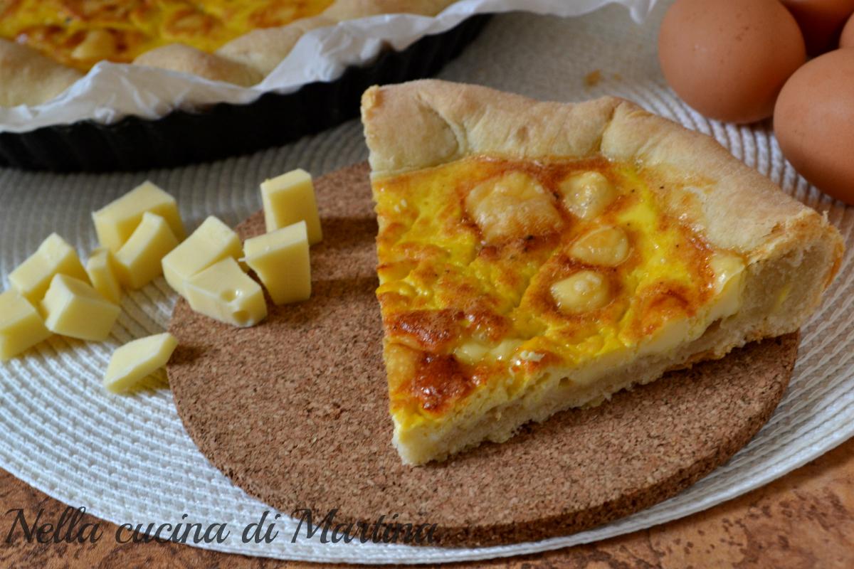 crostata al formaggio ricetta nella cucina di martina