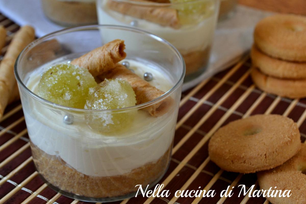 mini cheesecake al rum ricetta nella cucina di Martina