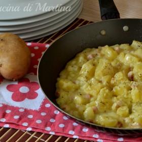 patate pancettate ricetta nella cucina di martina