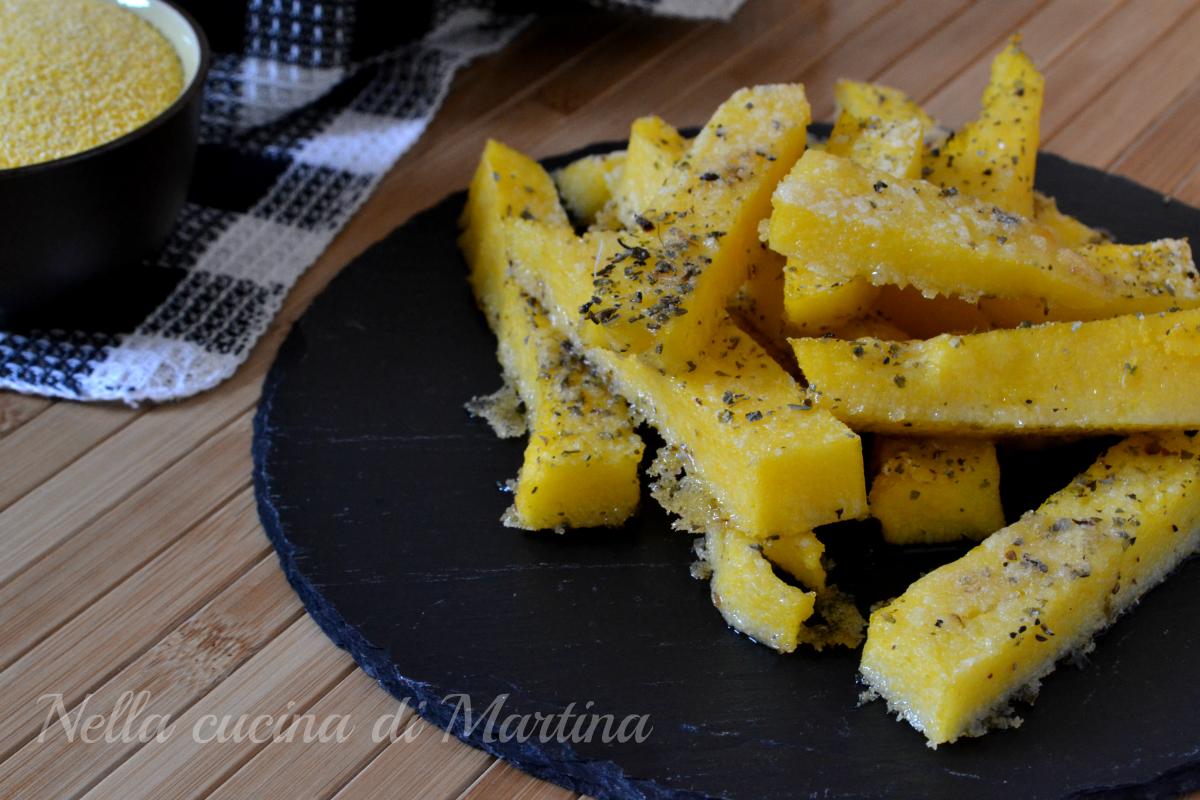 bastoncini di polenta ricetta nella cucina di martina