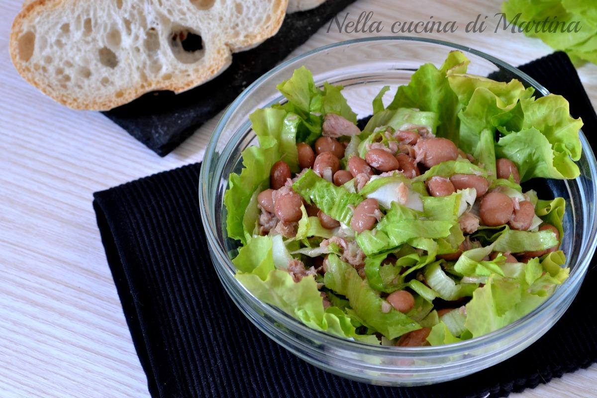 insalata di tonno e fagioli ricetta nella cucina di martina