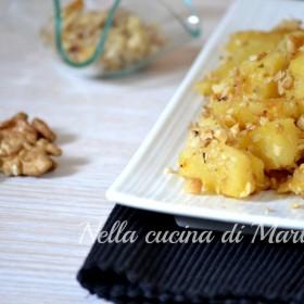patate alle noci in tegame ricetta nella cucina di martina