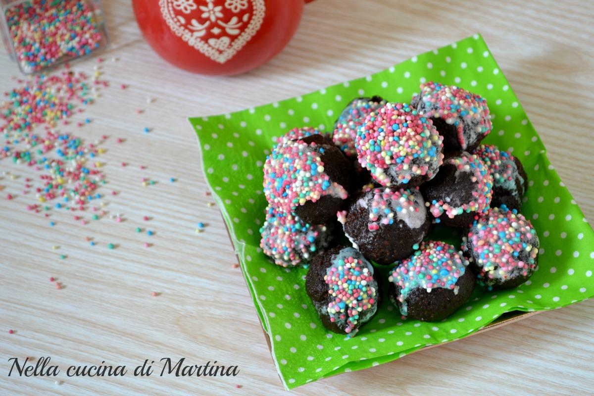 tartufini di plum cake ricetta nella cucina di martina