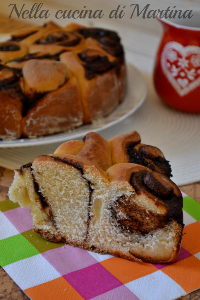 torta di rose alla nutella ricetta nella cucina di martina