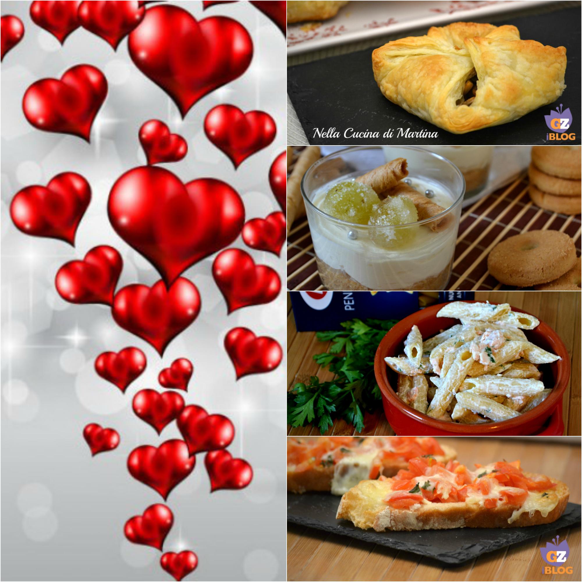 menù di pesce per san valentino ricettario nella cucina di martina