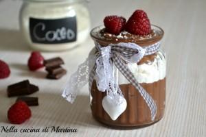 Coppe golose al cioccolato
