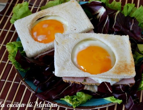 Panino con uovo