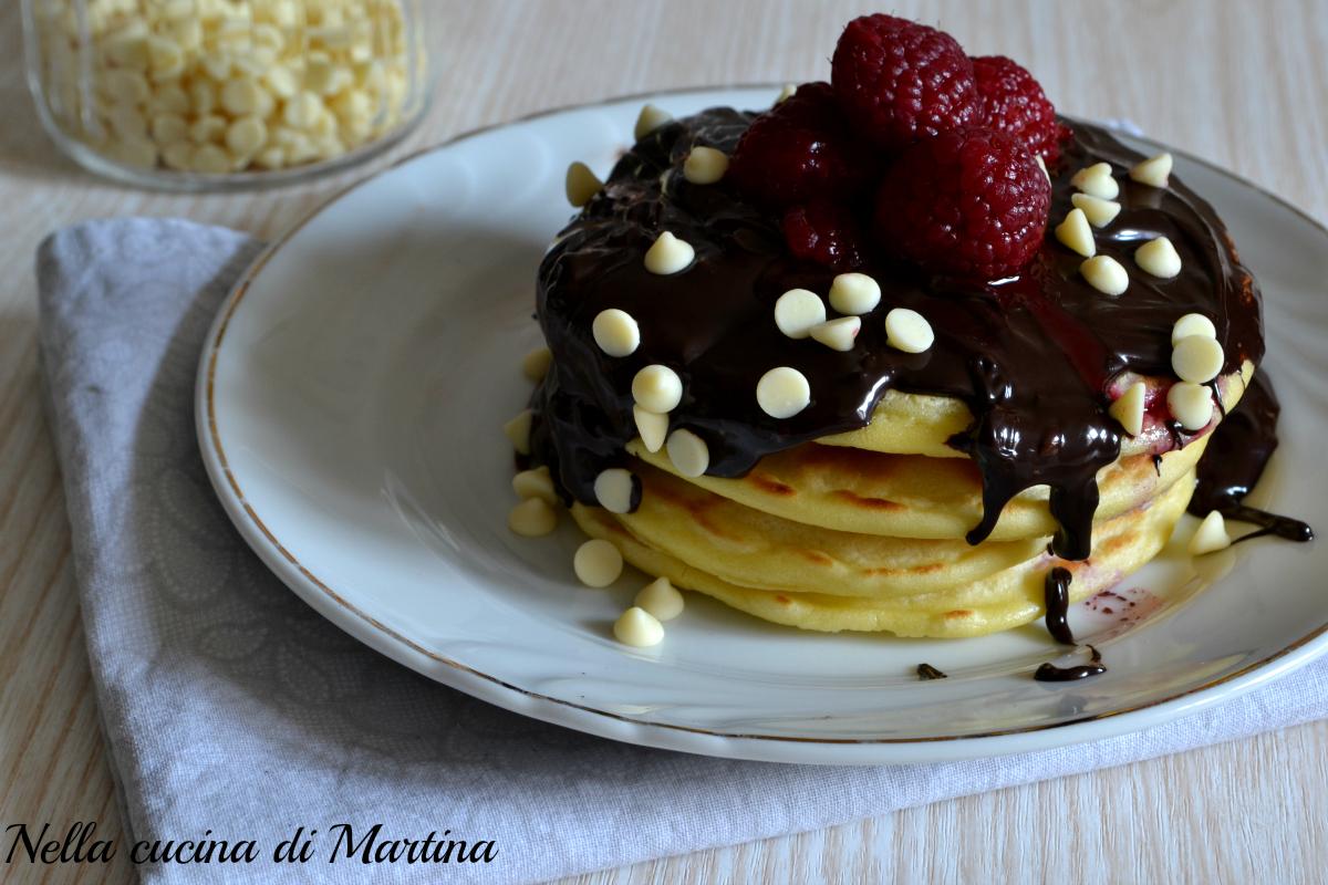 Pancakes ricetta semplice e veloce for Cucina veloce e semplice