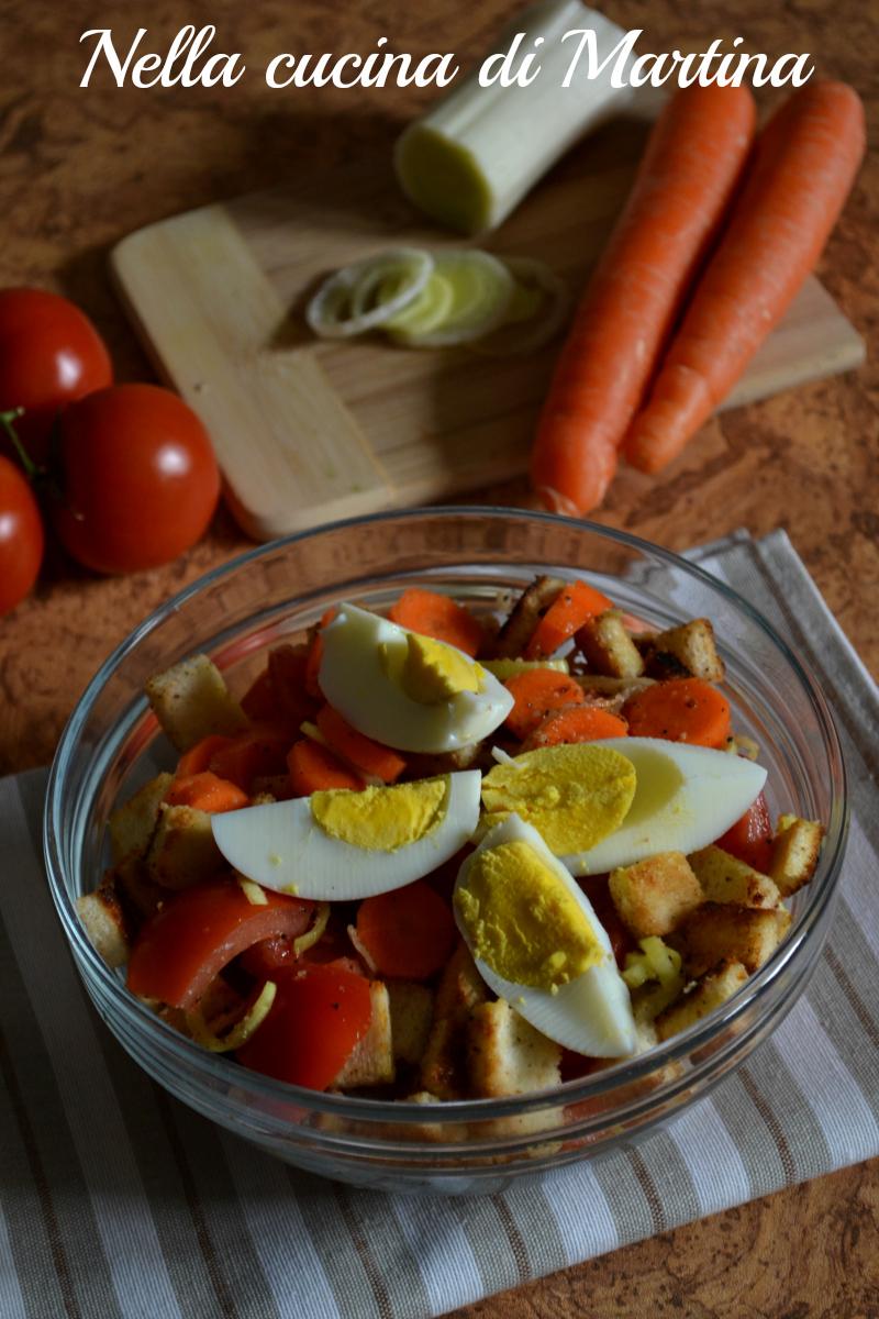 insalata golosa ricetta nella cucina di martina