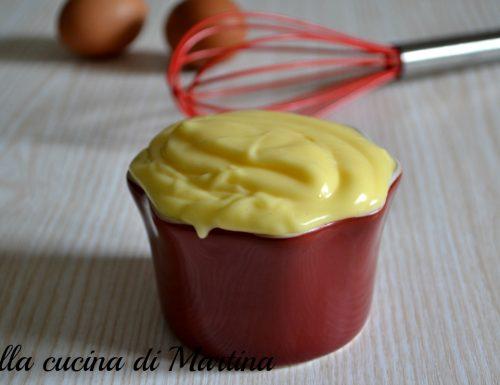 Maionese, ricetta semplice