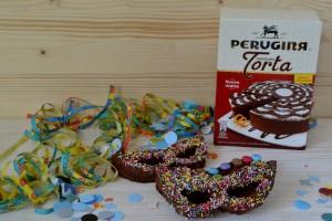 Mascherine di carnevale al cioccolato