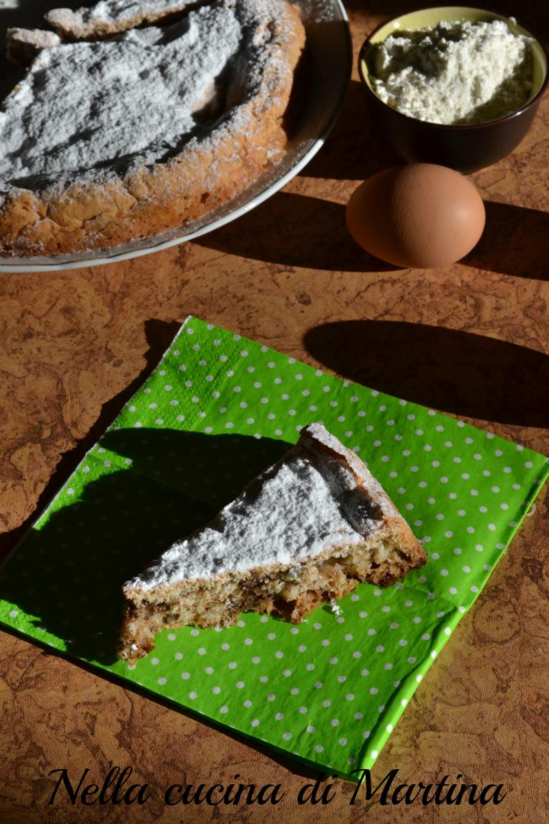 torta di albumi ricetta nella cucina di martina