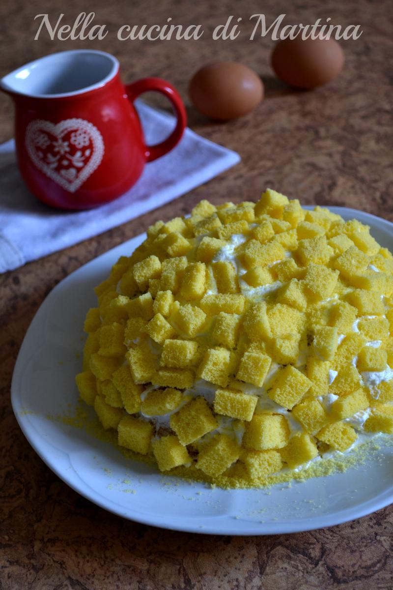 torta mimosa ricetta nella cucina di martina
