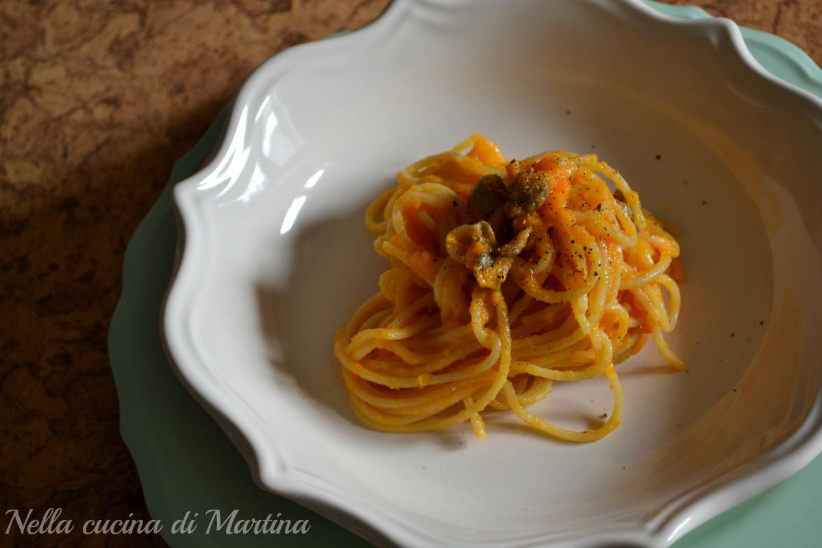 Pasta al sugo di carote