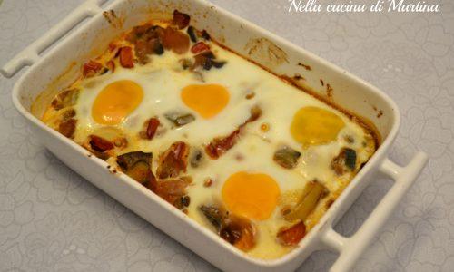 Uova alla contadina, ricetta golosa