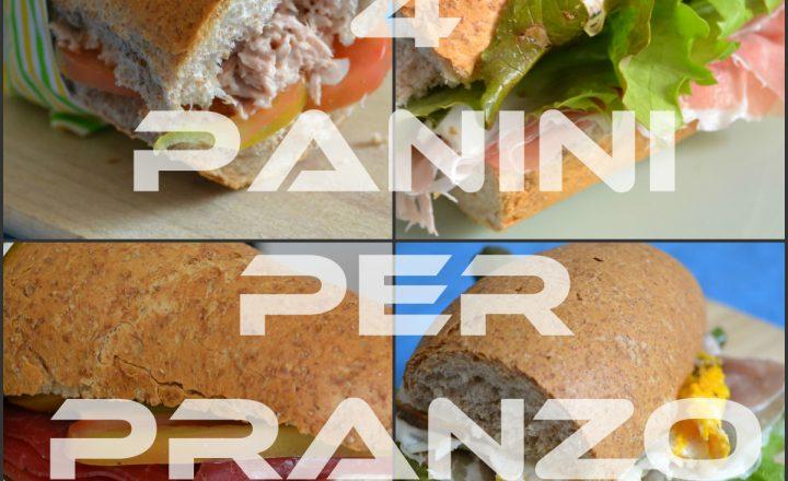 Pranzo con i panini senza pericoli per la dieta!