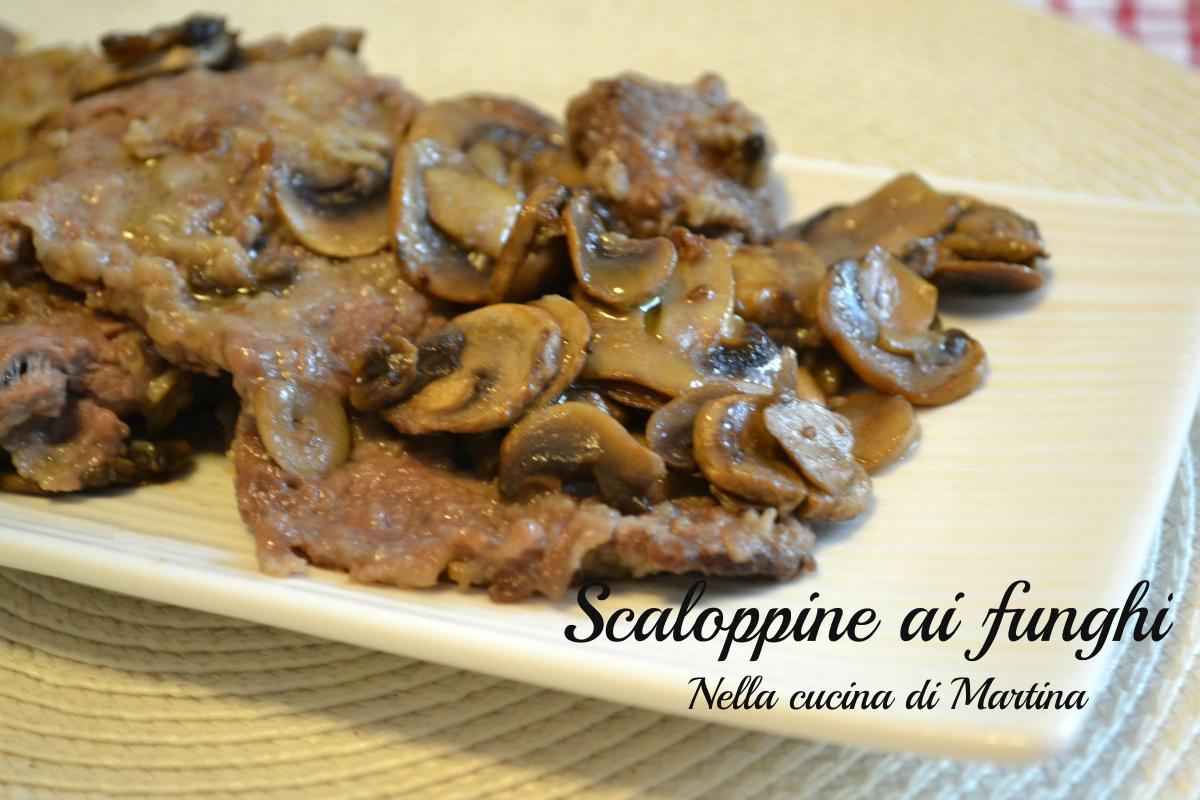 scaloppine ai funghi ricetta blog