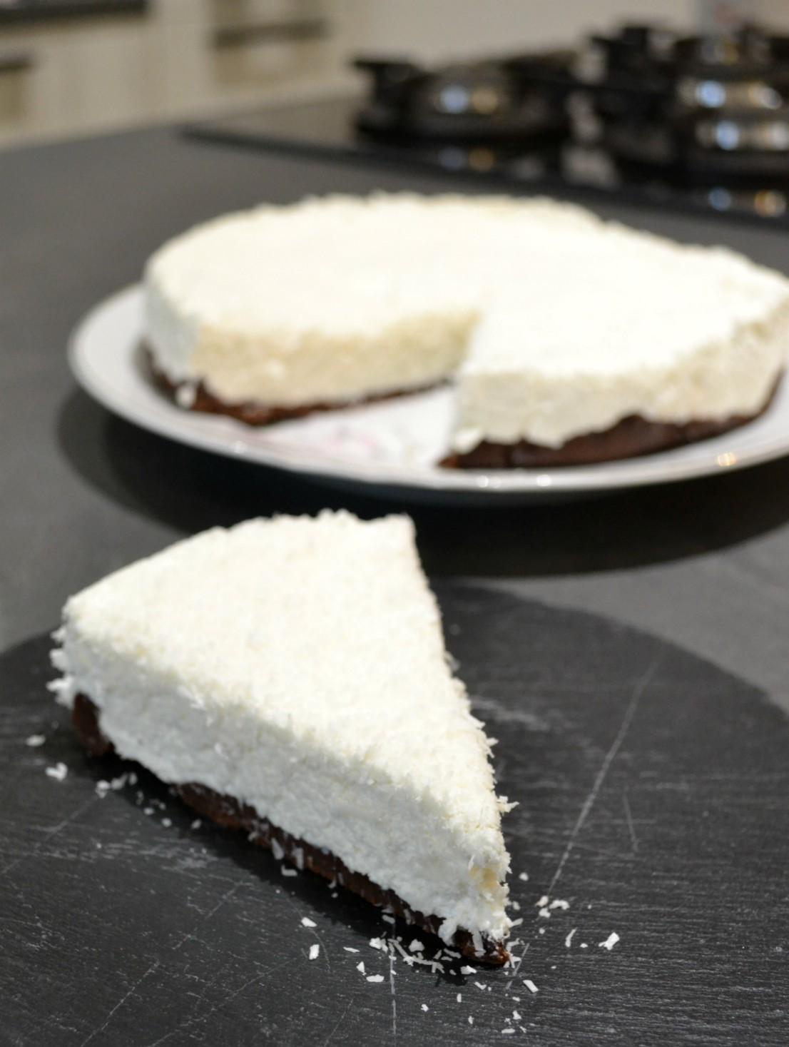 cheesecake al cocco ricetta blog
