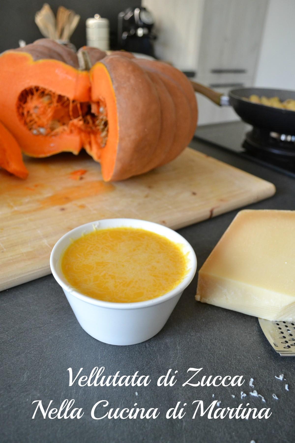 vellutata di zucca, ricetta blog nella cucina di Martina