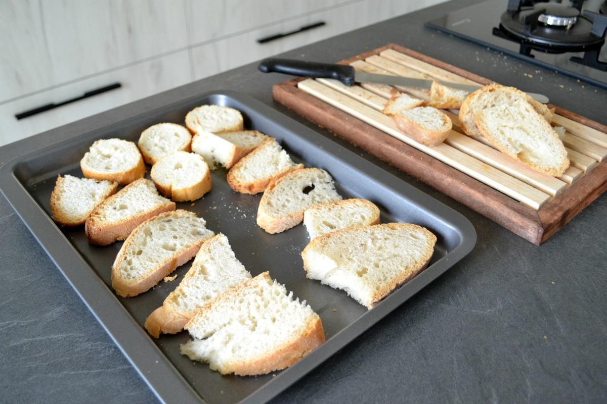 pane crostini di carne