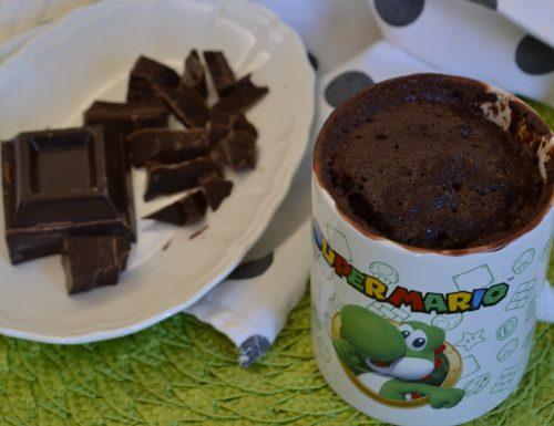 Mug cake extra dark