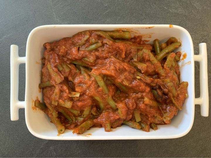Fagiolini al pomodoro in umido
