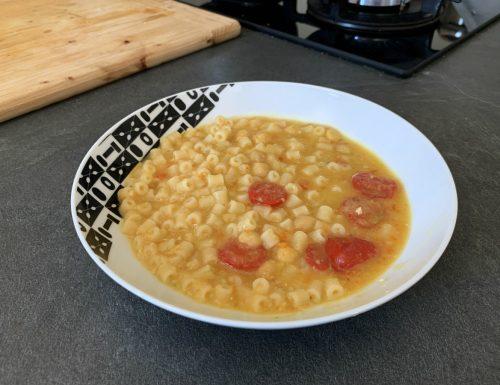 Zuppa di Ceci estiva