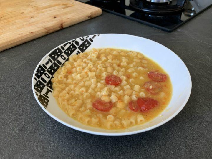Zuppa di ceci estiva ricetta
