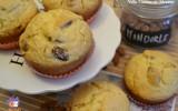Muffin al miele e mandorle