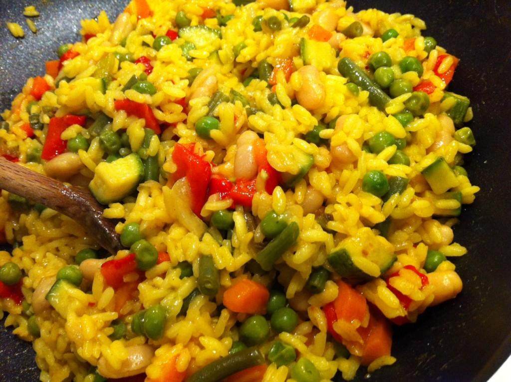 Paella vegan 1