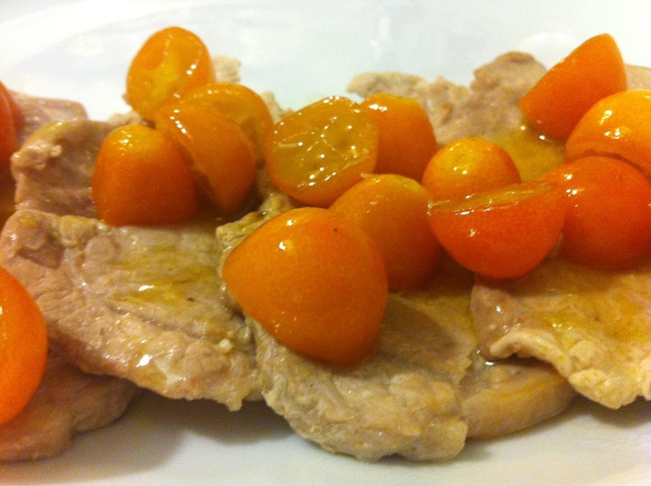 Fettine di Lonza ai Kumquat | Cucina Mon Amour