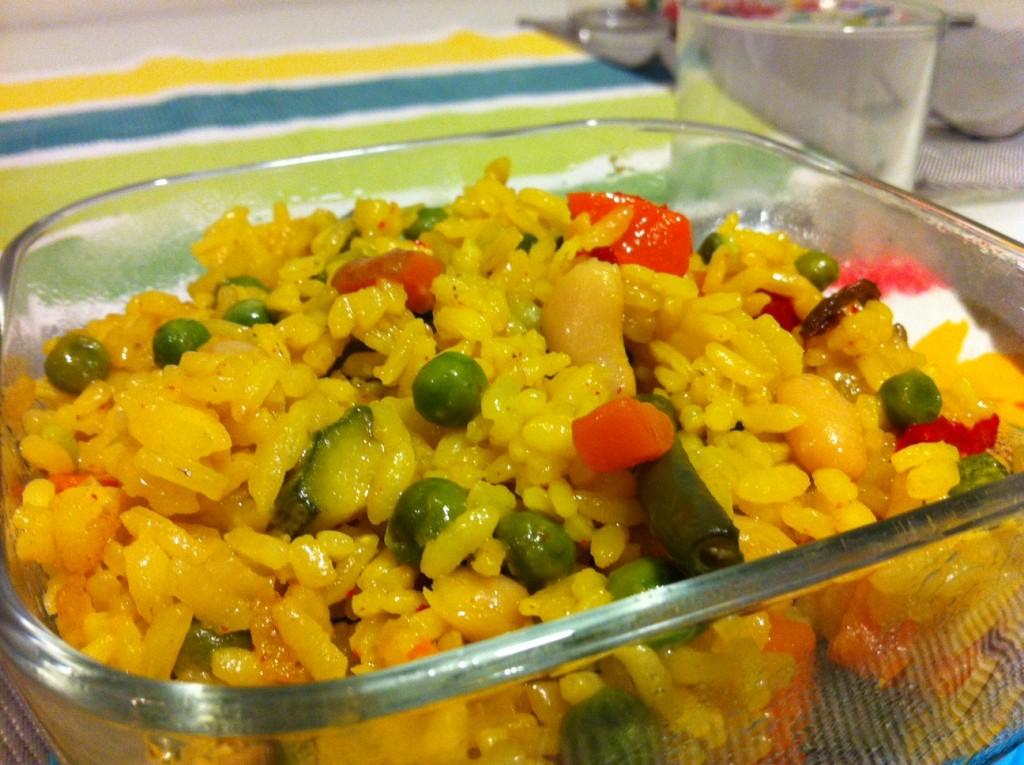Paella vegan 2
