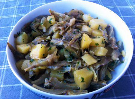 Padellata di carciofi e patate