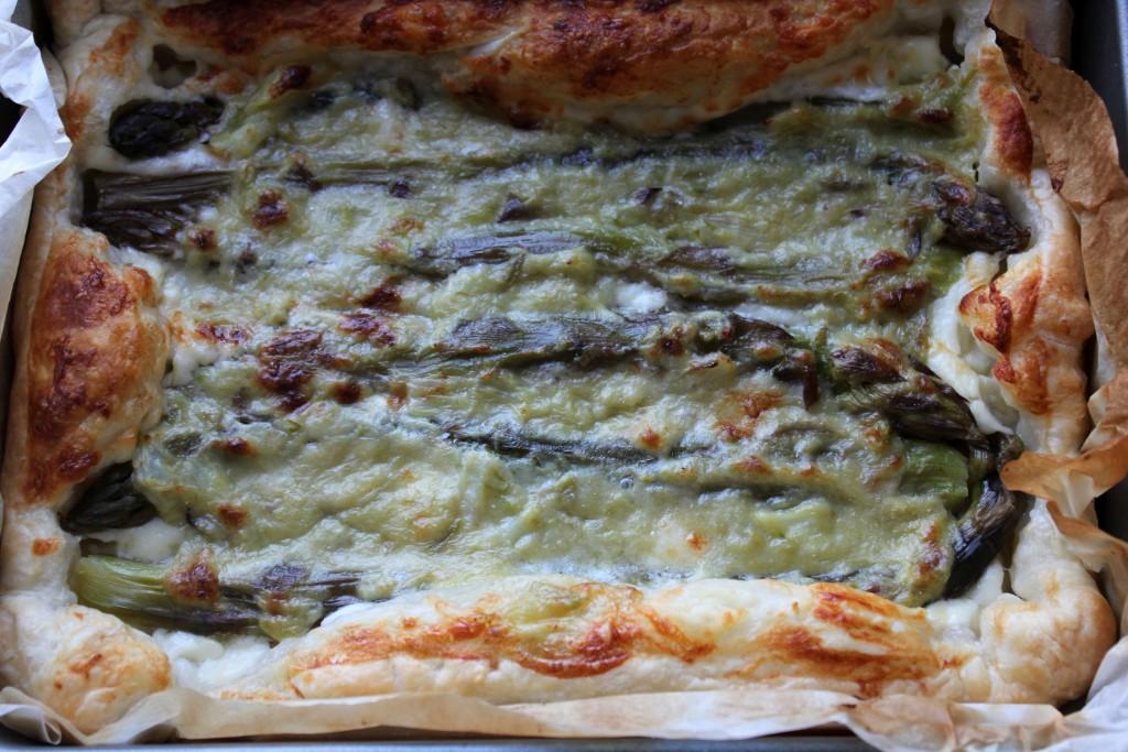 torta di asparagi e stracchino