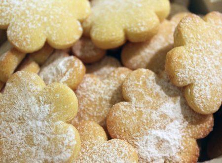 Biscotti con farina di semola senza lattosio