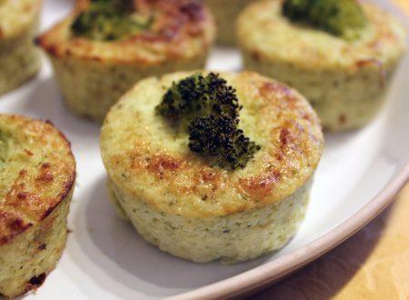 Flan di broccoli e nocciole