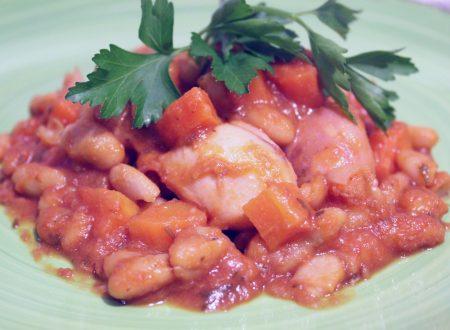 Moscardini con carote e fagioli cannellini