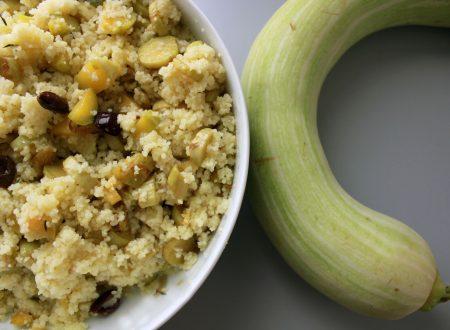 Couscous con zucchine e olive