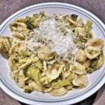 Orecchiette broccoli e parmigiano