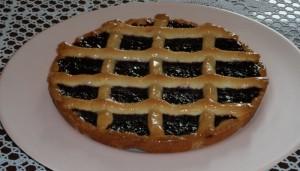 Crostata di marmellata alle fragole